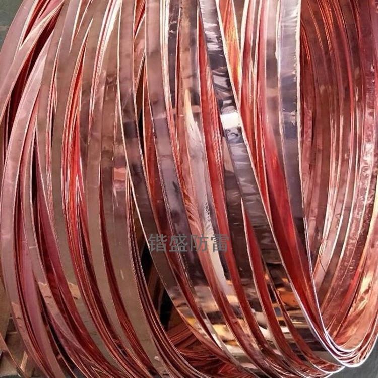 唐山鍍銅扁鋼鍍銅扁鐵銅覆鋼扁鋼廠家現貨批發