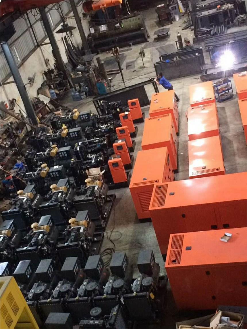 天水本地大型柴油发电机专业出租出售