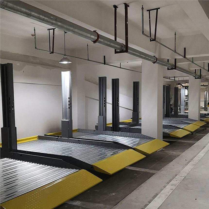 漢中略陽機械車庫租賃 改造機械立體停車設備 萊貝立體停車設備費用