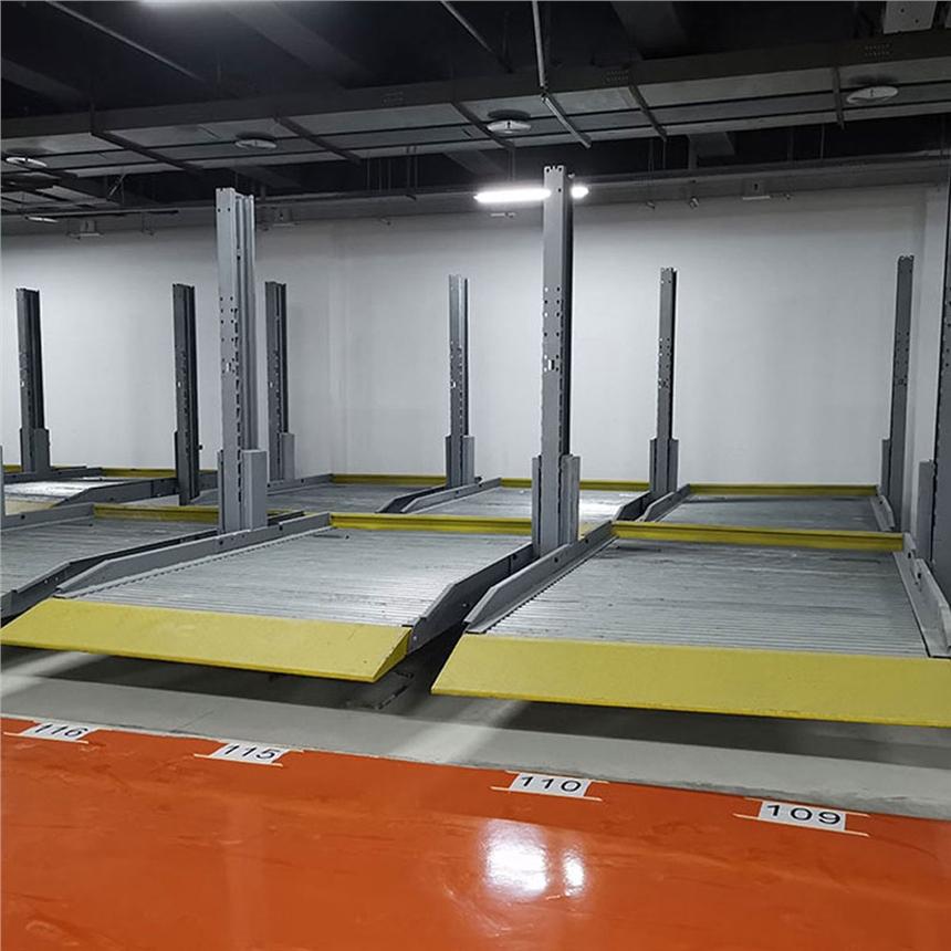 云南省宣威機械車庫租賃 全自動停車位 萊貝立體停車庫回收