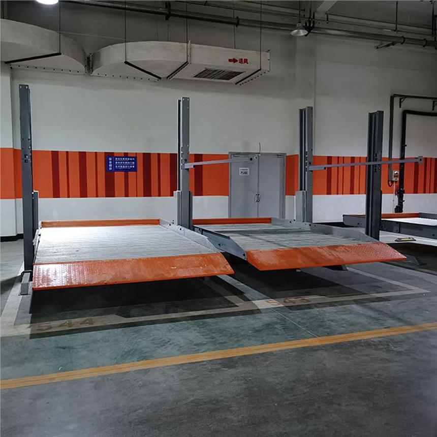 合江县停车库租赁 简易升降式机械式停车位收购 立体车库停车设备改造