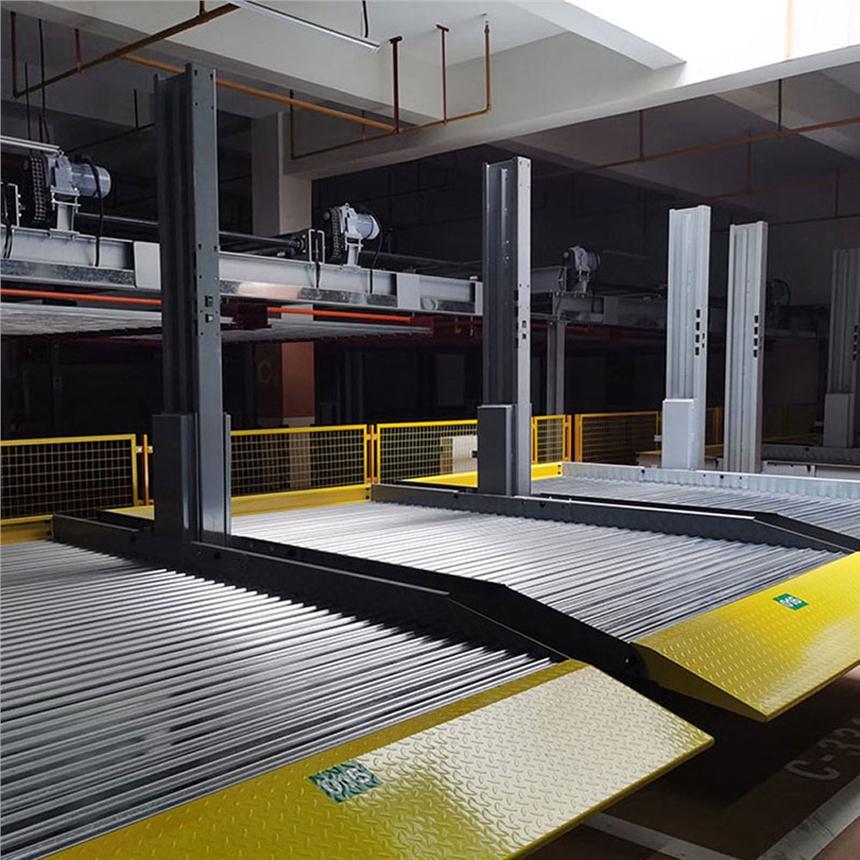 甘肅省涇川停車位租賃 堆垛式立體車位制作 萊貝機械立體停車設備租賃