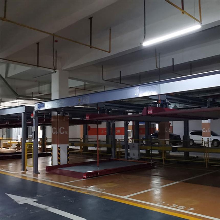 云南昭通立体车库租赁 两层横移车位 莱贝立体停车上门回收
