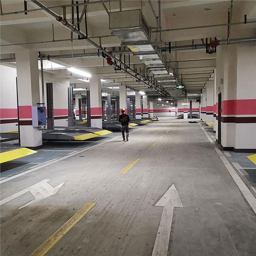 巴中恩阳区停车库租赁 简易升降式立体停车位收购 立体车库规划验收