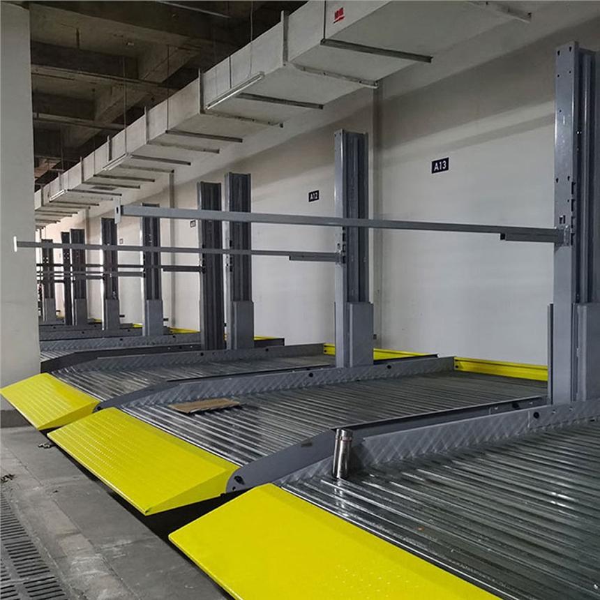 寶雞岐山停車位租賃 堆垛式停車庫制作 萊貝機械式立體車庫廠家