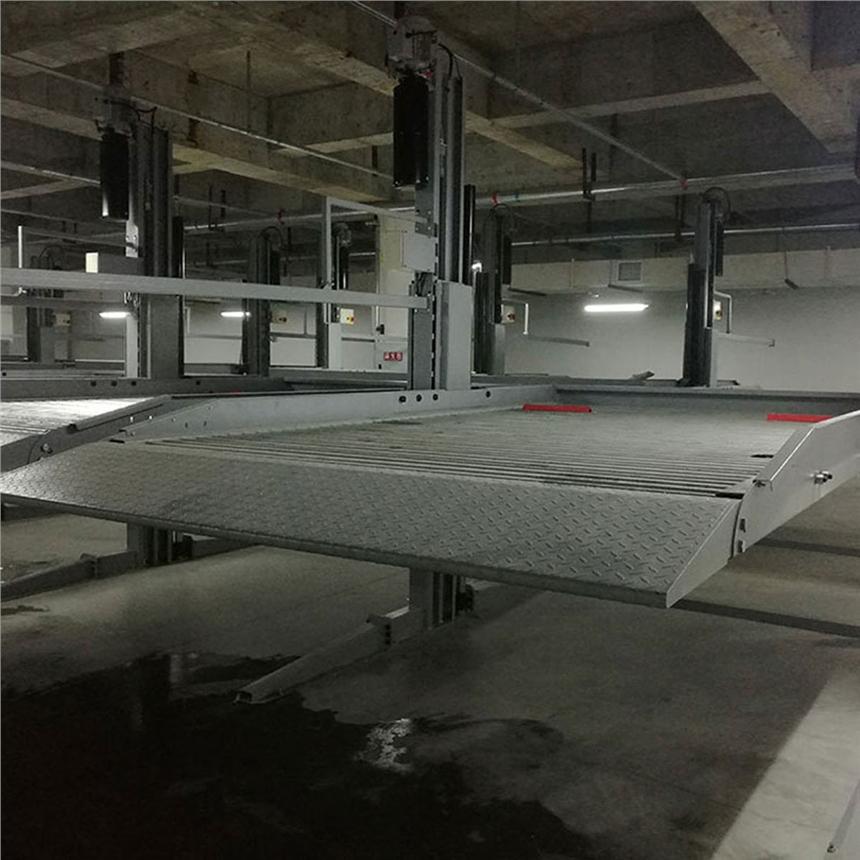 四川南江停车库租赁 垂直升降式立体停车场收购 立体停车设备过验收