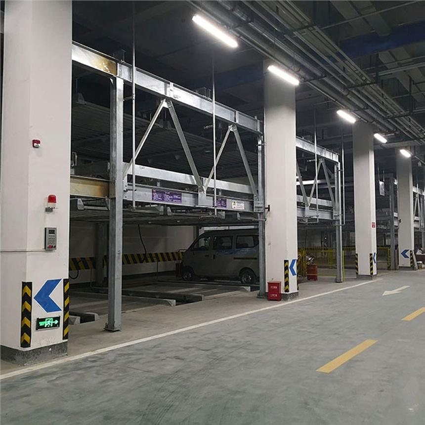 毕节市织金机械车库租赁 立体车库拆除 莱贝停车设备上门回收