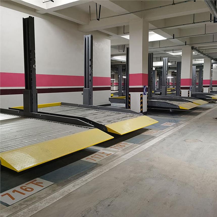 云南五華停車位租賃 堆垛式機械立體車庫制作 萊貝機械式停車位費用