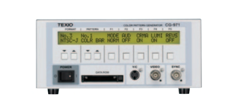 彩色電視測試信號發生器 CG-971  地鐵專用