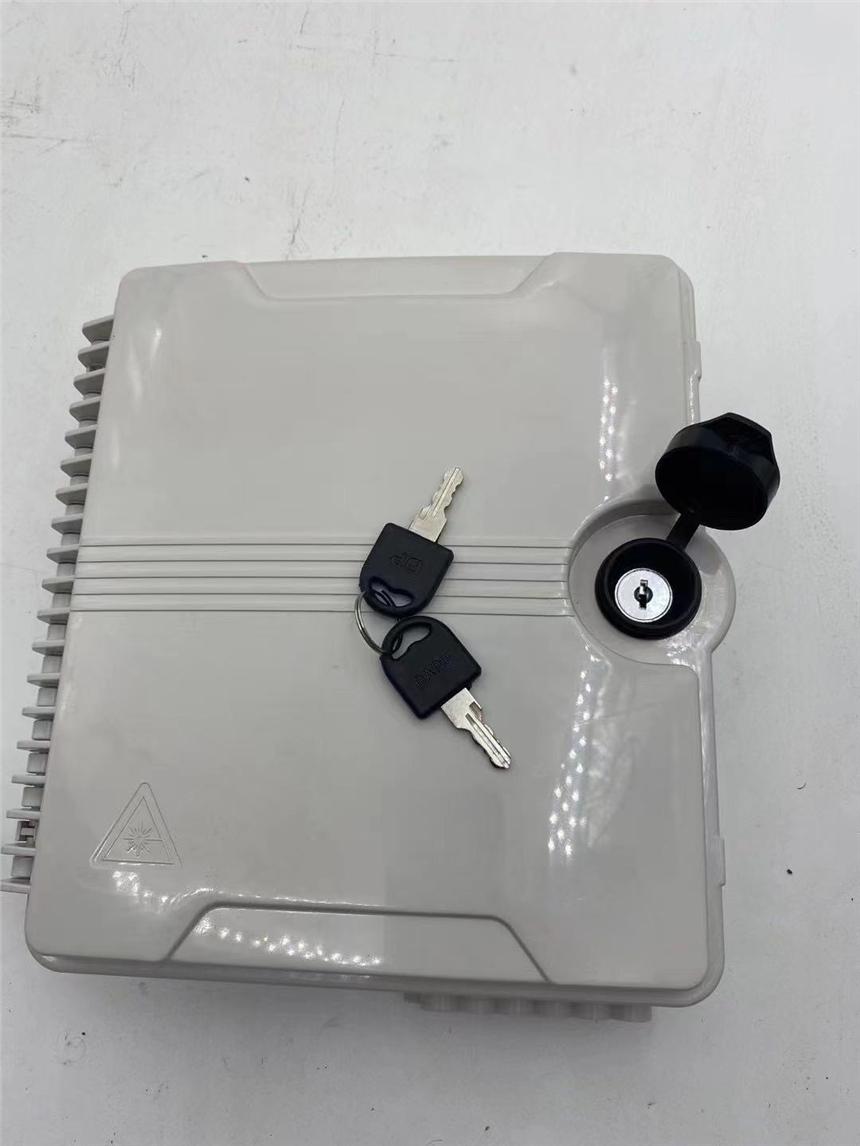 外贸款16芯双卡PLC接线盒分路器光纤终端盒