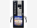 广西柳州充电桩120KW直流充电桩黑色