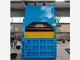 大棚薄膜塑料紙打包機回收站廢紙書本壓縮打包機魯晨