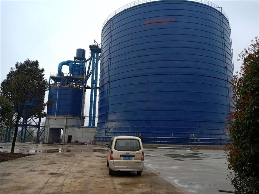 哈爾濱加工大型儲存罐廠家 3萬噸粉煤灰鋼板倉 筒倉