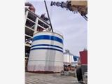 張家口5000立方水泥鋼板庫  粉煤灰鋼板倉施工原理