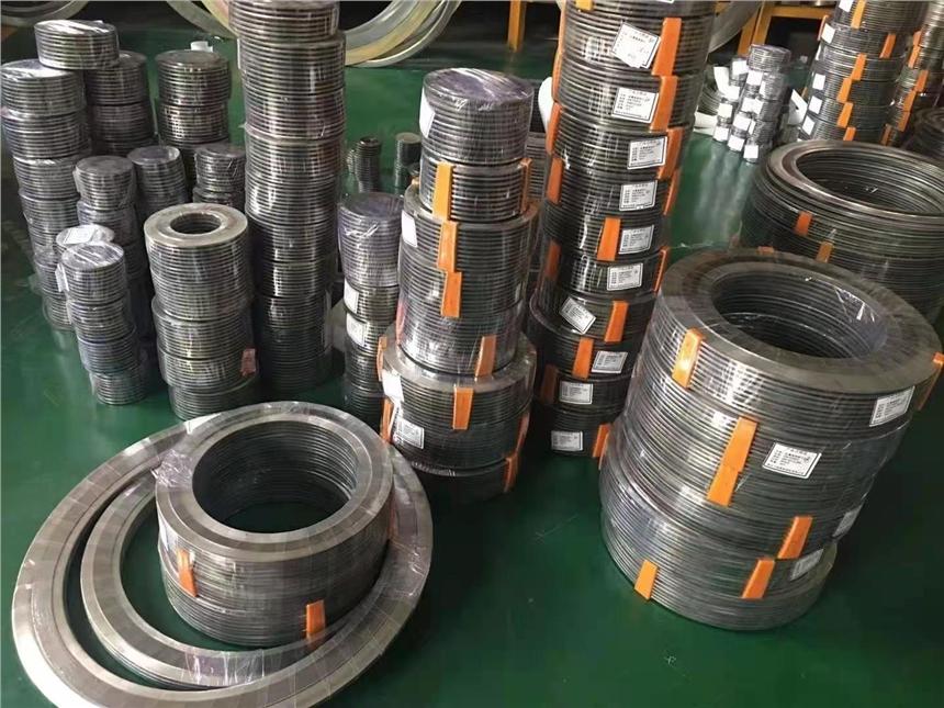 内外加强型金属缠绕垫片垫片 ;带内外环金属缠绕垫片尺寸;缠绕垫片执行标准