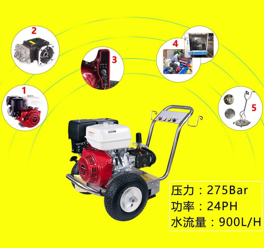 河南物業公司保潔清洗機用于小區車庫清洗