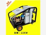 惠州阀门管件去油污,除锈,除漆用君道PU5022高压清洗机