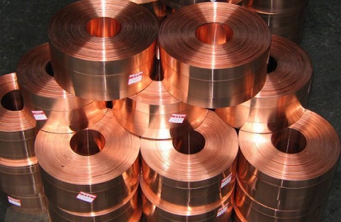 超薄接地紫銅帶0.3*100 0.2*200辰昌壓延銅帶