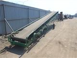 货车装卸带式输送机 移动式粮食输送带 分拣传送流水线