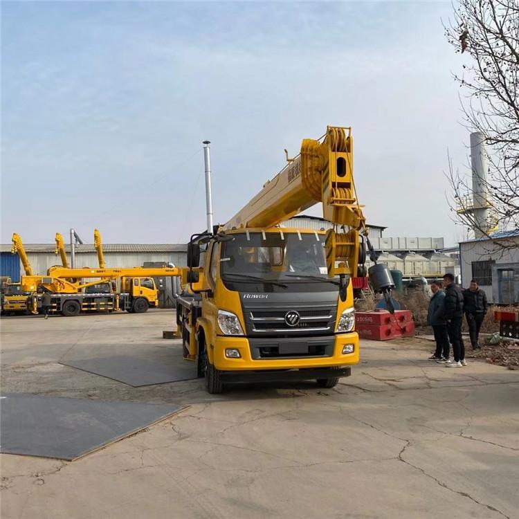 16吨吊车厂家 重汽吊车价格 质量保证