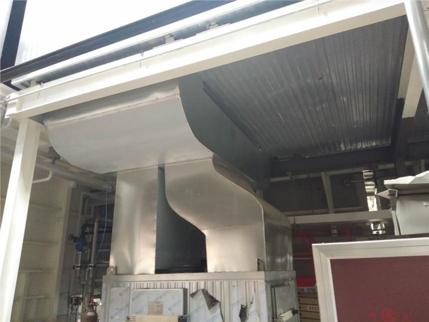 商用通风管道铝皮弯头外护加工制作放样公式运城河津厂家