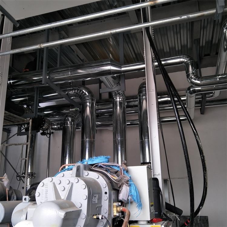 河南鐵皮風管保溫施工 鋁皮保溫施工
