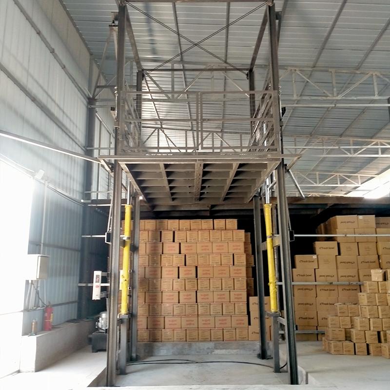 河北省邯郸市上卸货液压升降平台户外货梯生产销售