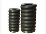 160*160*30减震橡胶柱工业减震橡胶弹簧