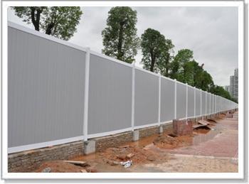 工地 道路常用PVC围挡 大量批发