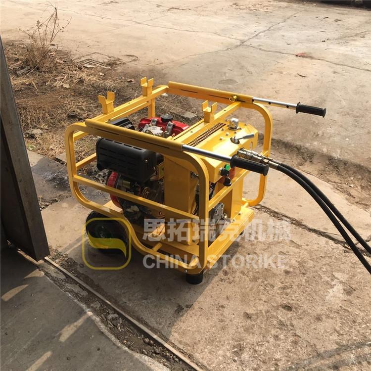 汽柴油液壓動力站參數 液壓風鎬劈裂機ST13-30C液壓站