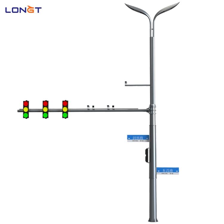 智慧路燈 多功能綜合桿 標志牌多桿合一