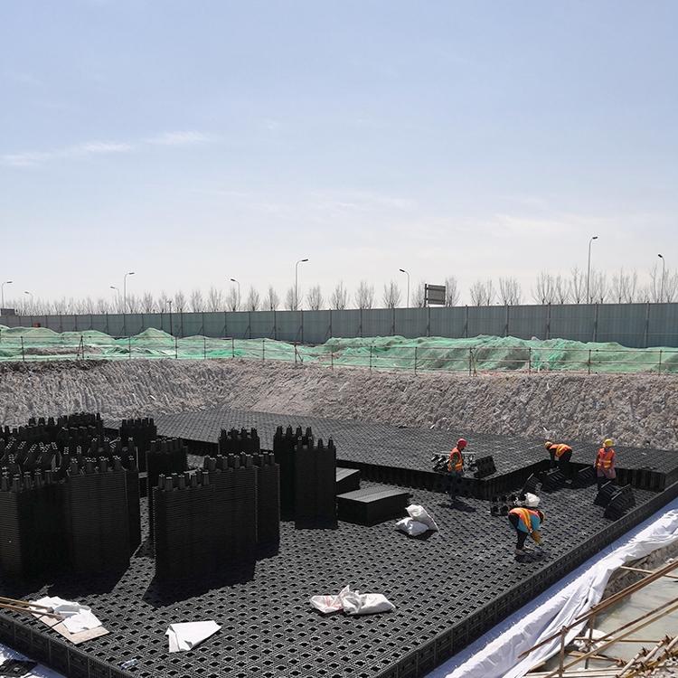 滄州聚丙烯模塊廠家,綠球品牌供應雨水模塊