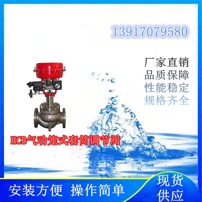 反滲透系統上使用的HCB氣動籠式套筒調節閥