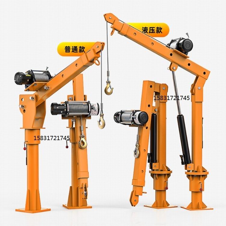 起重小吊机车用小吊机轻型货车吊运机农用三轮车吊装机小型吊机
