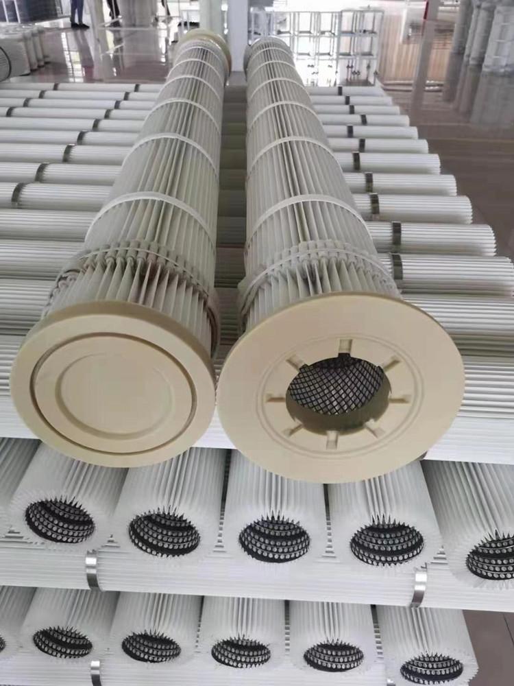 攪拌站倉頂除塵器除塵濾筒除塵濾芯