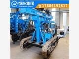 济宁恒旺HG-300L型履带打桩机 多功能光伏打桩机