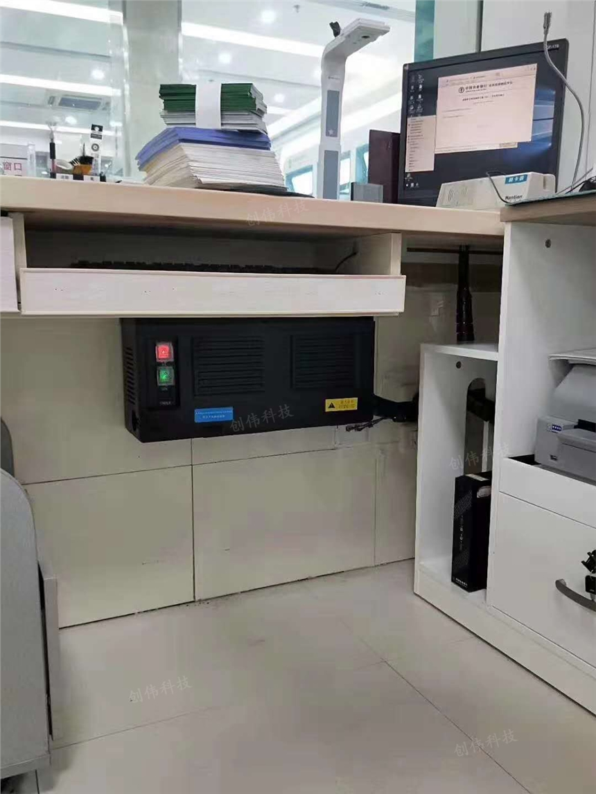 银行网点柜台线路整理防护的多功能电源集中盒 电源分理器
