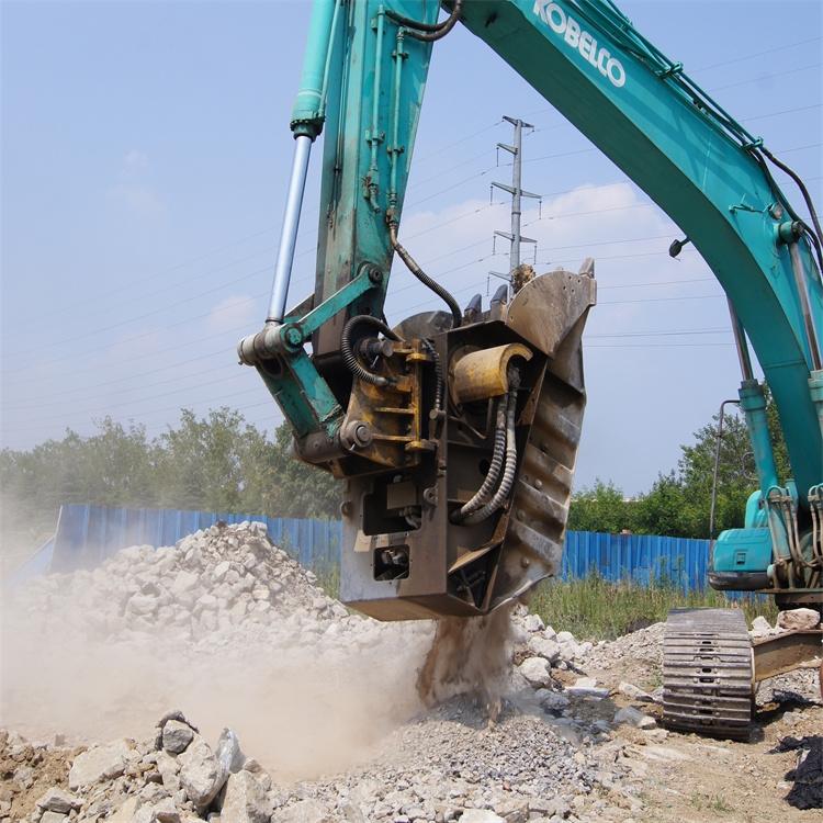 玉門挖機移動粉碎鏟斗供應商