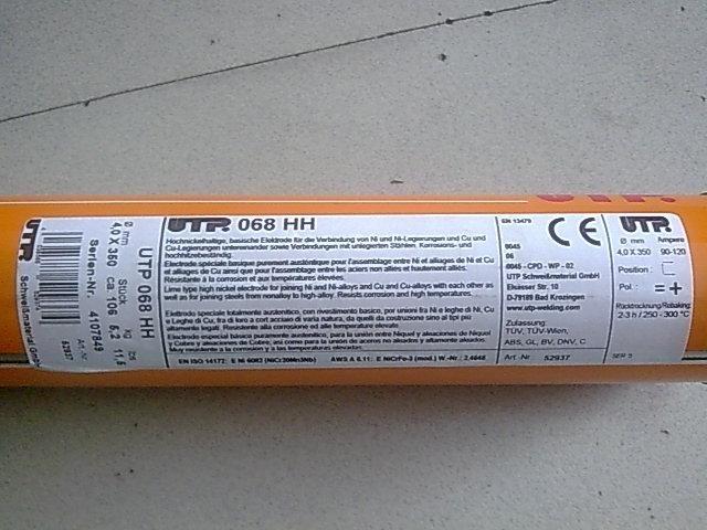 德国卡斯特林2R耐磨焊条(N102)堆焊焊条