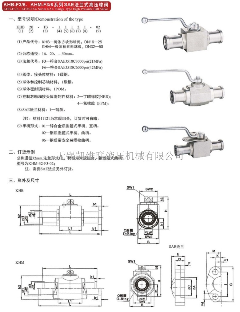 BKH-SAE-FS-420-40,法蘭式高壓球閥,性價比高
