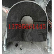 防腐管道木托主要材質,紅松木管托價格