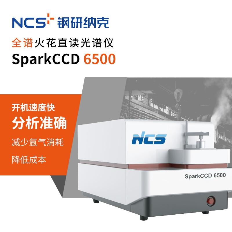 鋼研納克全譜火花直讀光譜儀 SparkCCD 6500