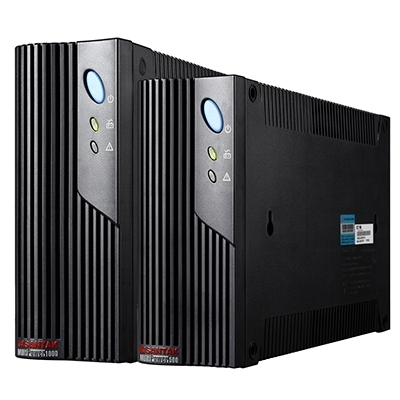 山特MT1000S后备式UPS电源长机外接电池使用