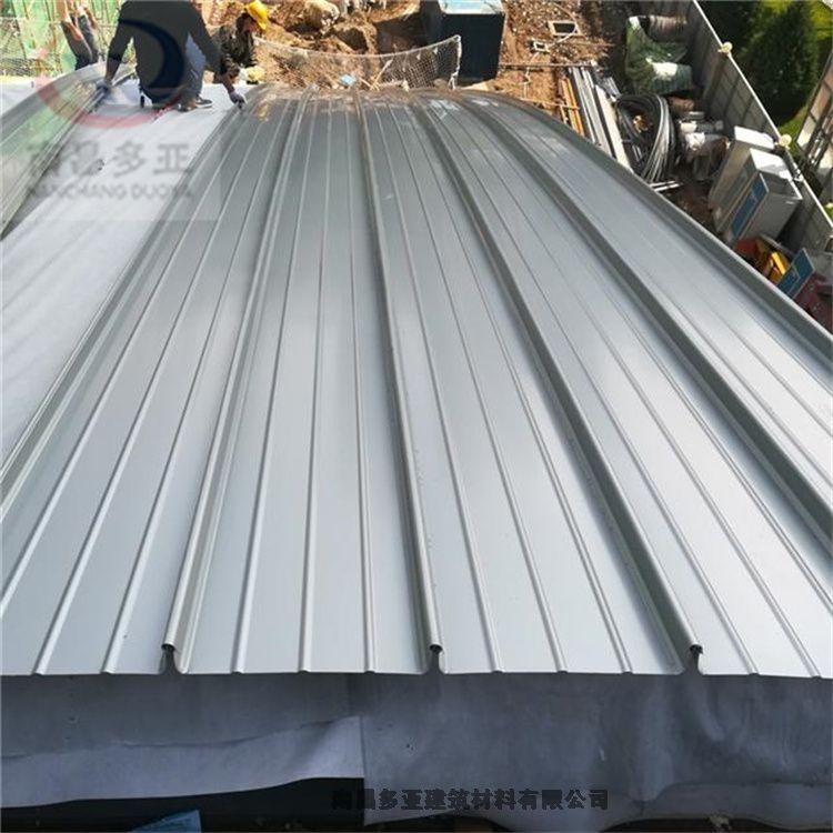 撫州0.7mm鋁鎂錳波浪板廠家 836型鋁合金墻面橫裝波浪板
