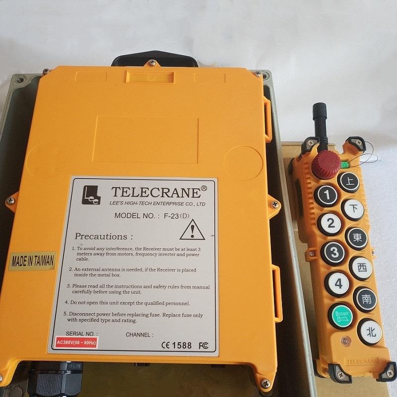 F23-C F23-D 工业无线遥控器 双梁行车使用
