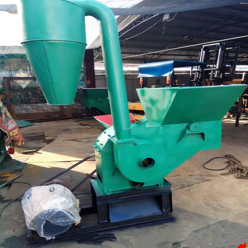 大型玉米芯粉碎机 家用自动进料秸秆粉碎机多功能粉碎机特价