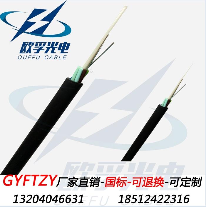 GYFTZY-24B1 GYFTZY24芯單模光纜 阻燃光纜阻燃場所綜合布線專用