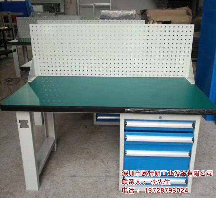 防静电工作台操作台重型装配钳工桌电脑维修桌检验桌实验台打包台