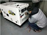 全自动12千瓦静音柴油发电机