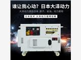 大泽动力15kw发电机TO18000ET价格合理